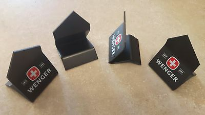 Wenger SWISS ARMY exhibition stand - Lot of 4 - Black