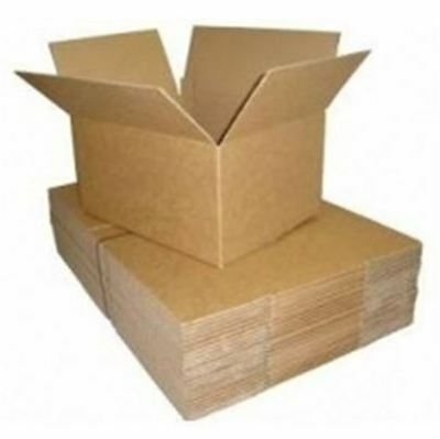 100 x Single Wall Cardboard Boxes - Various Sizes - Parcel, Packaging, Posting