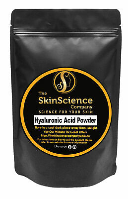 Hyaluronic Acid Powder 10g Useful for Wrinkles Anti Aging Ageing Finelines
