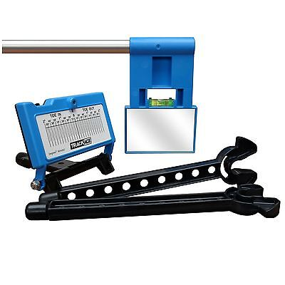 Trackace Laser Wheel Alignment Tracker Tracking Gauges DIY Check Toe In/Out Tool