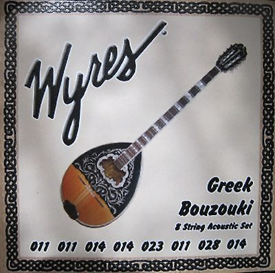 Wyres Handmade Greek Bouzouki 11-28 Strings