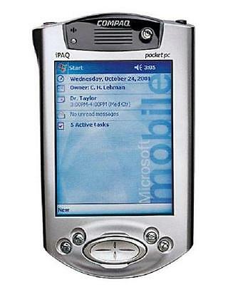HP COMPAQ IPAQ H3900 Series H3950 64MB COLOR POCKET PC HANDHELD PDA with Craddle