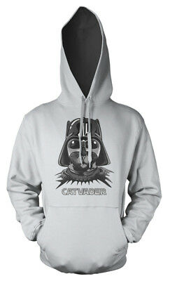 Cat Darth Vader Star Wars Pussy mash up Kids Hoodie