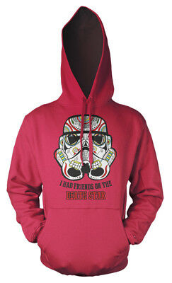 I Had Friends On The Death Star Star Wars Trooper Sugar Skull Kids Hoodie