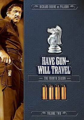 Have Gun, Will Travel: The Fourth Season  Vol. 2 (DVD, 2010, 3-Disc Set)