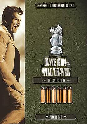 Have Gun, Will Travel: The Final Season, Vol. 2 (DVD, 2-Disc Set)FREE SHIPPING!