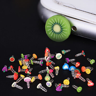 fashion style popular fruit earphone dust plug for headphone hole universal BB