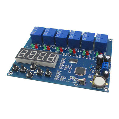 T8 multiple timing module 5 relay time control board time module X
