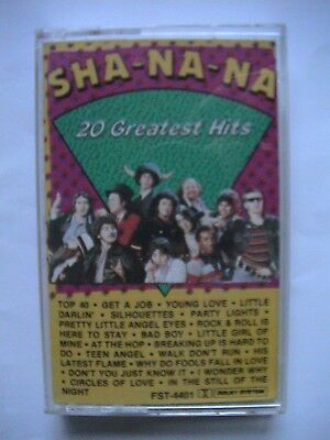 MC-Kassette    SHA_NA_NA  20 Greatest Hits wie Neu