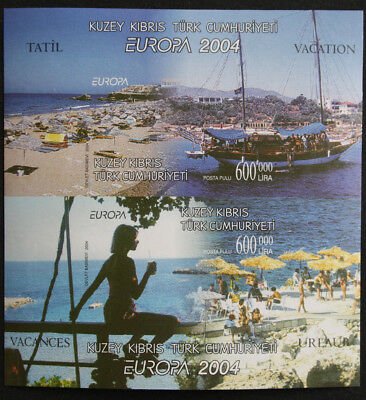 Cyprus, Turkish Cypriot Posts 2004 Europa IMPERF Miniature Sheet MS588 MNH/UM