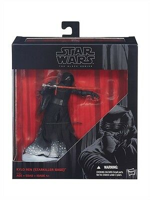 "Hasbro Star Wars Ep 7 Black Series 6-Inch 6"" Kylo Ren Starkiller 2015 Exclusive"