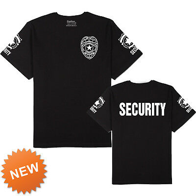 Security T-Shirt Short Sleeve 100% Cotton USA sizes NEW 1 Shirt.