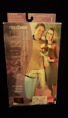 NEW Mediven Assure~Closed Toe~Compression Maternity Pantyhose~ 30-40 mmHg~Beige