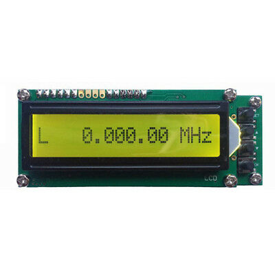 T8 0.1MHz~1200MHz 1.2GMZ Frequency Counter Tester Measurement LCD For Ham Radi E