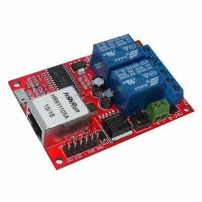 T8 LAN Ethernet 2-way Relay Board Delay Switch TCP/UDP Controller Module WEB s A