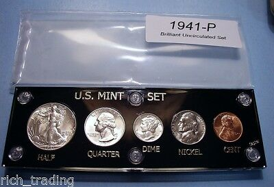 1941 Mint Silver Set U.s. Coins Cherrypicked Choice - Gem Brilliant Uncirculated
