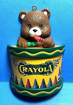 Crayola Bear Ornament 1992