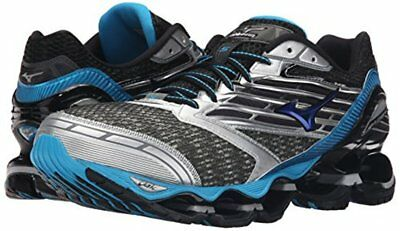 Mizuno Wave Prophecy 5 Men's Running Shoes Gray/Blue/Black 410732.995W New w/Box