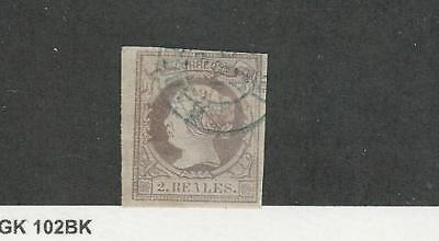 Spain, Postage Stamp, #54 Used, 1860