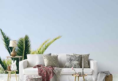 Palm Leaves Blue sky  Photo Wallpaper Wall Mural (FW-1019)