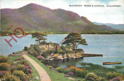 Picture Postcard- Killarney, Mccarthy More's Castle [Valentine's]