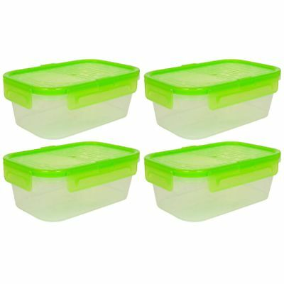 SNAPWARE RECTANGLE 2 Cup Airtight Storage Container and Green Gasket