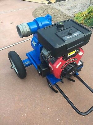 "THOMPSON Trash Pump Dewatering- 4"" 16 HP Briggs & Stratton Commercial Unit"