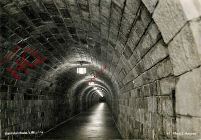 Picture Postcard: Kehlsteinhaus, Liftunnel (Tunnel)