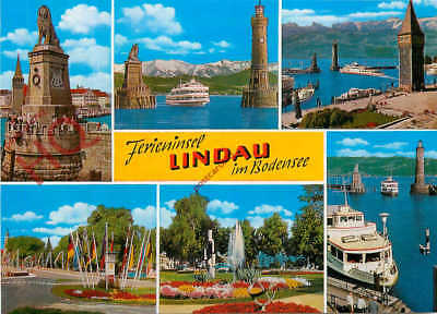 Picture Postcard: Lindau Im Bodensee (Multiview)