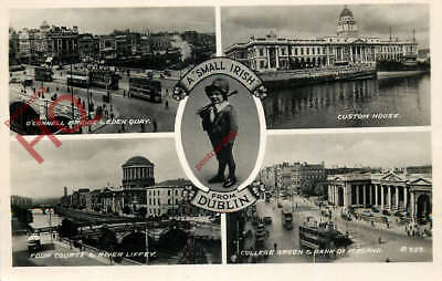 Picture Postcard::Dublin, 'A Small Irish', Leprechaun? [Valentine's]