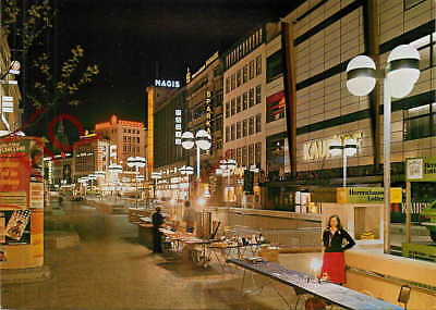 Picture Postcard::Hannover, Bahnhofstrasse