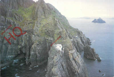Picture Postcard:;Skellig Michael, Co. Kerry, Lighthouse