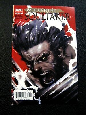 Wolverine: Soultaker #1 (May 2005, Marvel)