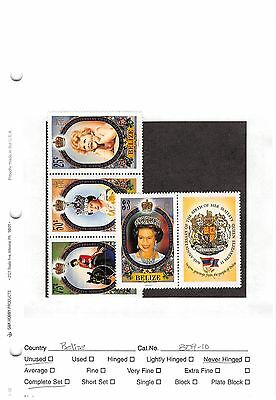 Lot of 32 Belize MNH Mint Never Hinged Stamps #98606 X R