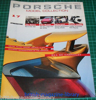 Porsche Model Collection #17 - 1974 911 Coupe 2.7 inc. technical cutuaway