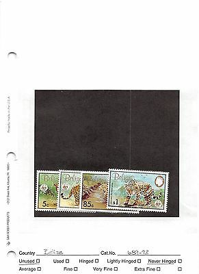 Lot of 36 Belize MNH Mint Never Hinged Stamps #98598 X R