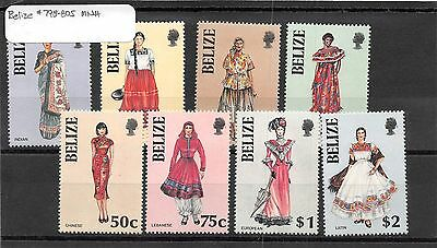 Lot of 56 Belize MNH Mint Never Hinged Stamps #98595 X R