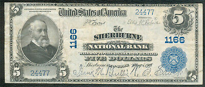 Sherburne NY National Bank Note, Series 1902