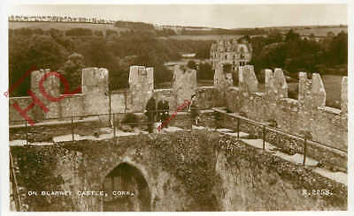 Picture Postcard-:Cork, On Blarney Castle [Valentine's]