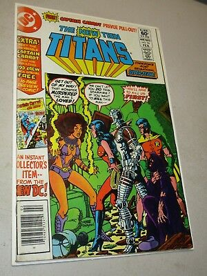 The New Teen Titans #16 Bronze Age Mid grade - Perez! First Captain Carrot!