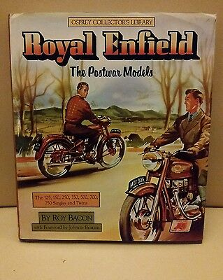 Royal Enfield The Postwar Models  125  150  250 350 500 700 Roy bacon post war