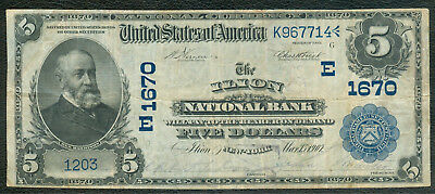 Ilion New York National Bank Note, Series 1902