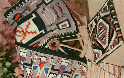 Picture Postcard~ Navajo Rugs