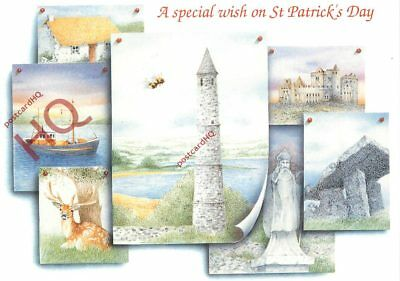 Picture Postcard~ A Special Wish On St. Patrick's Day, Lighthouse