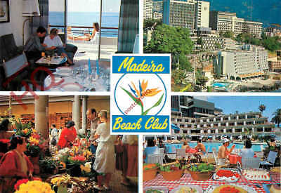 Picture Postcard~ Madeira, Funchal, Madeira Beach Club (Multiview)