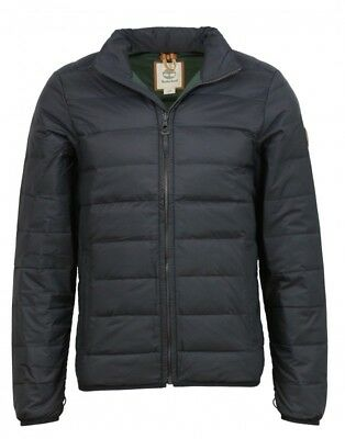 TIMBERLAND MEN'S BEAR HEAD PACKABLE DOWN BLACK JACKET STYLE
