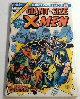 1975 Marvel Comics Giant Size X-Men #1