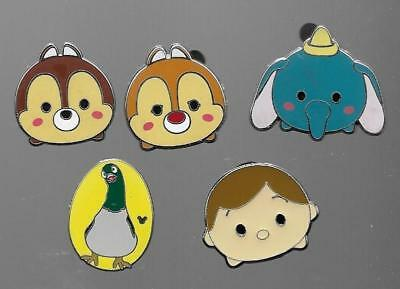 Lot Of 5 Walt Disney Trading Collector Pins What You See Is What You Get