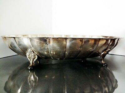Wm. A. Rogers Oval Scalloped Serving Tray
