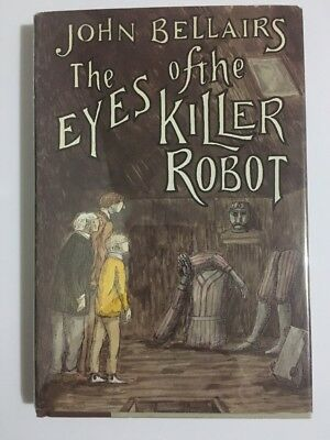 The Eyes of Killer Robot John Bellairs Edward Gorey HBDJ 1986 FIRST EDITION